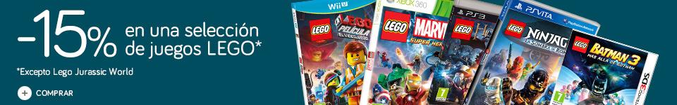 15% de descuento en LEGO