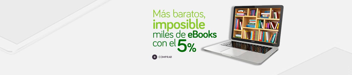 eBooks 5% de descuento
