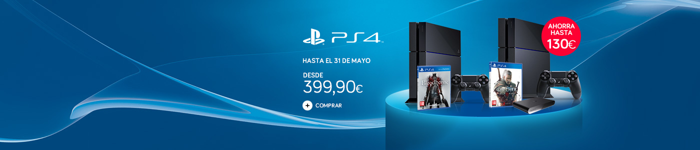 oferta ps4 witcher bloodborne home